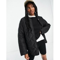 & Other Stories recycled quilted jacket in black Women Coats Online Wholesale ZBLI671