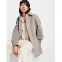 & Other Stories check shacket in multi Women Jackets Trend GVLT948