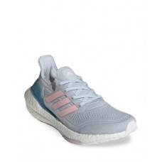 Adidas Womens Women's Ultraboost 21 Low Top Sneakers Halo Blue/Fresh Candy/Hazy Blue new look WXKR943